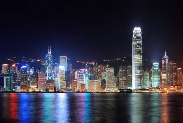 Fototapete Nr. 3563 - Hongkong Skyline