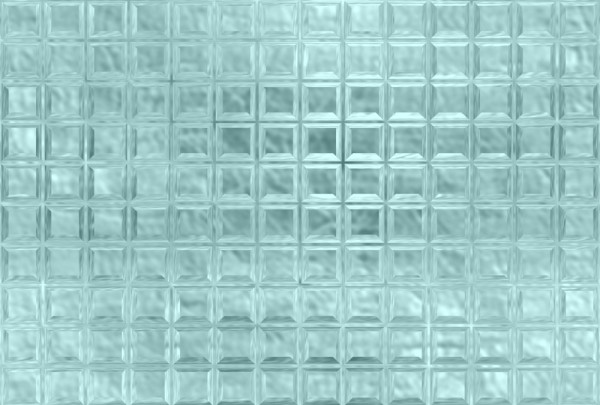 Fototapete Nr. 3570/04 - Glasbausteine eisblau