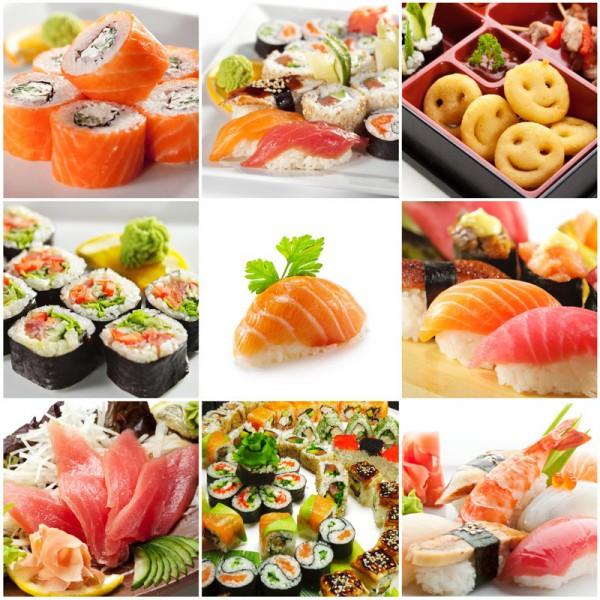 Fototapete Nr. 3886 - Sushi