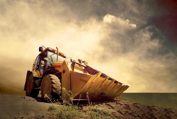 Fototapete Nr. 3518 - Tractor III