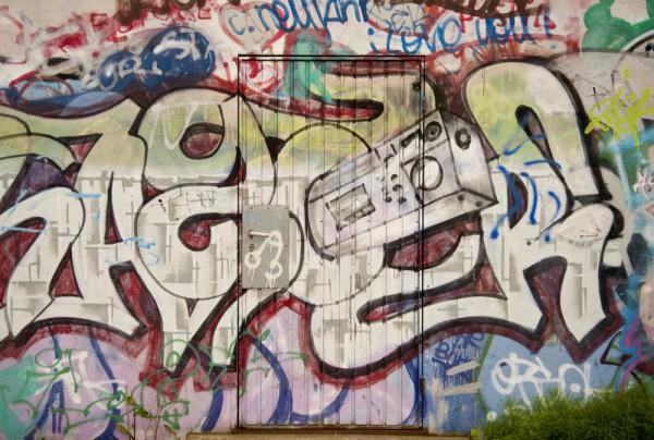 Fototapete Nr. 3836 - Graffiti Door