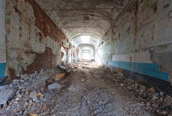 Fototapete Nr. 3909 - Tunnelblick