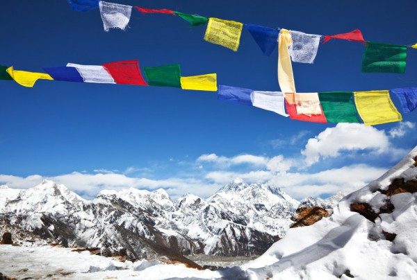 Fototapete Nr. 3867 - Himalayan Prayer Flags