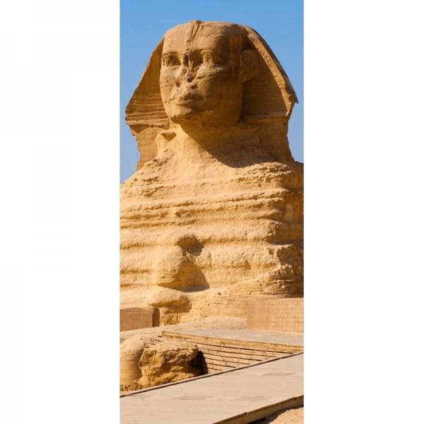 Türtapete Nr. 3319 - Große Sphinx Pyramide