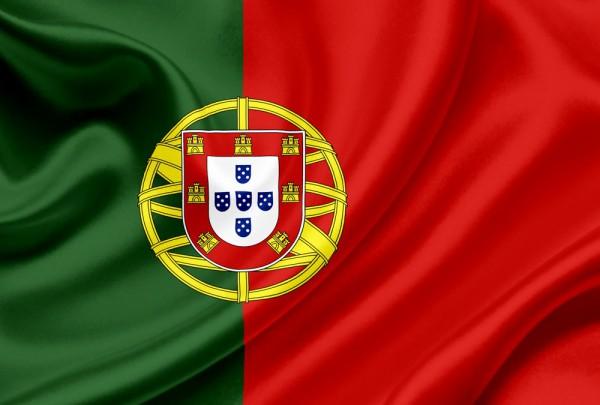 Fototapete Nr. 3158 - Flagge Portugal