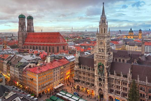 Fototapete Nr. 3652 - München