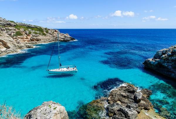 Fototapete Nr. 3688 - Calo des Marmols, Mallorca