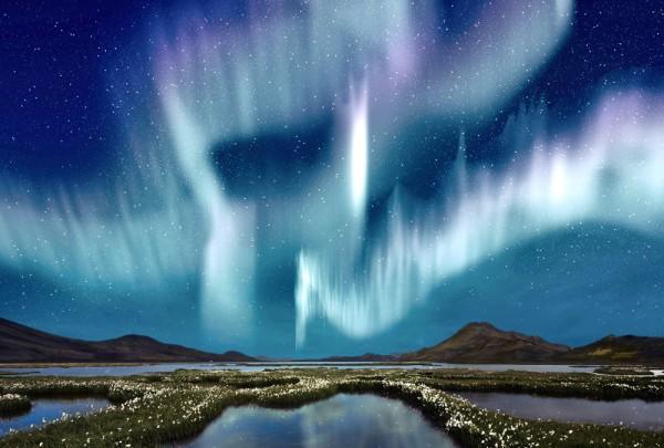 Fototapete Nr. 3769 - Northern lights
