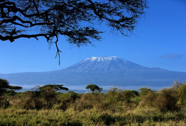 Fototapete Nr. 3534 - Schnee auf dem Kilimandscharo