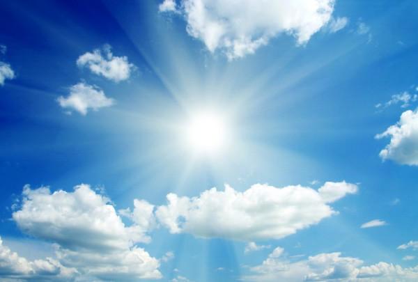 Fototapete Nr. 3176 - Sky, clouds & sun