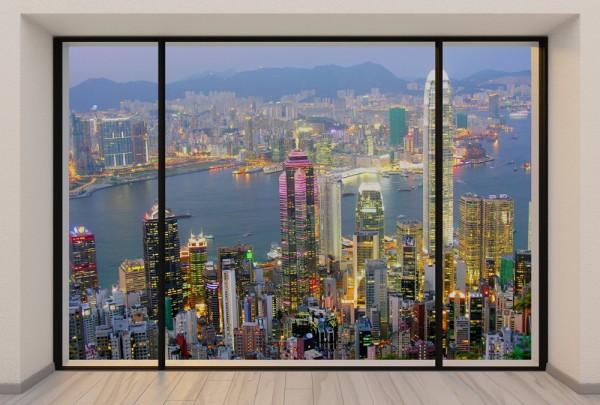 Fototapete Nr. 3732 - Penthouse Hongkong