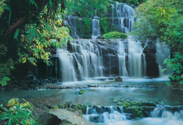 Fototapete Nr. 8445 - Purakaunui Falls