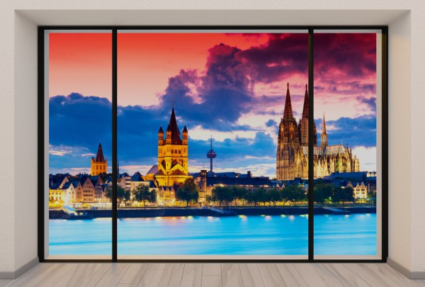 Fototapete Nr. 3712 - Penthouse Köln