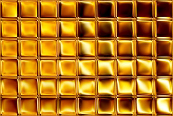 Fototapete Nr. 3944 - Golden Mosaic