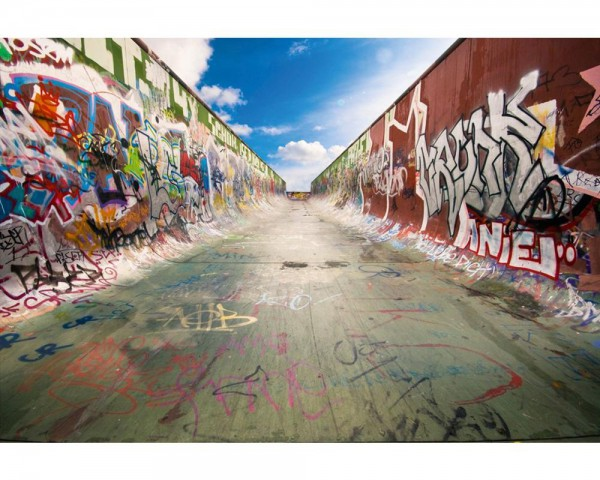 Fototapete Nr. 4044 - Halfpipe Art