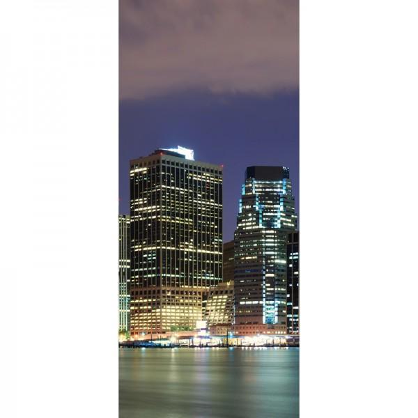 Türtapete Nr. 3561a - N.Y.C. Manhattan Skyline