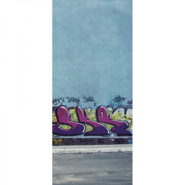 Türtapete Nr. 3488 - Graffiti Friedhof