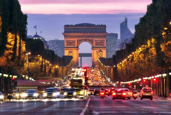 Fototapete Nr. 3340 - Champs-Elysees