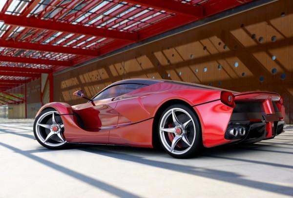 Fototapete Nr. 3551 - Super Car red