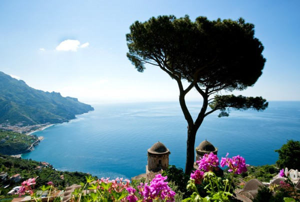 Fototapete Nr. 3706 - Amalfi coast