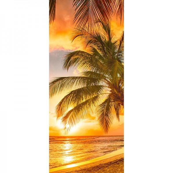 Türtapete Nr. 3022 - Abendsonne auf Hawaii