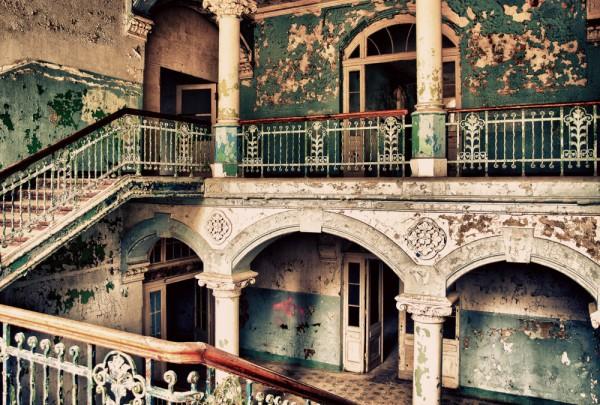 Fototapete Nr. 3625 - Villa Antique - Empore III