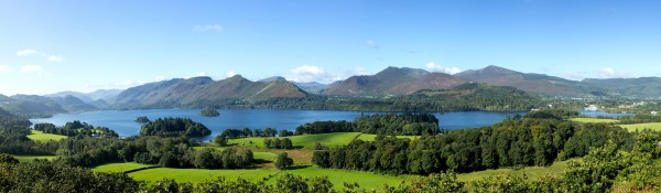 Panoramatapete Nr. 3293 - Derwentwater, English Lake District