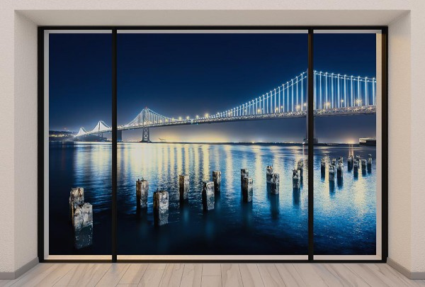 Fototapete Nr. 2966 - Penthouse San Francisco Bay Bridge I