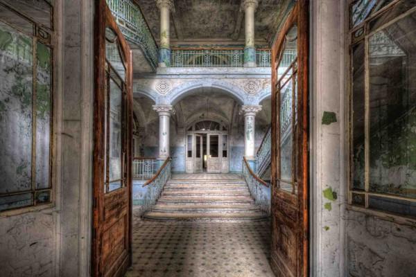 Fototapete Nr. 4194 - Villa Antique - Eingang
