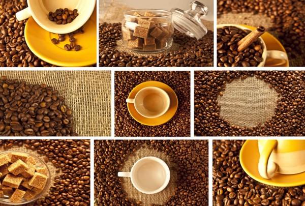 Fototapete Nr. 3796 - Coffee mix
