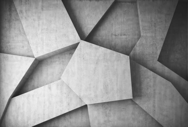 Fototapete Nr. 3501 - Beton - Struktur Prisma