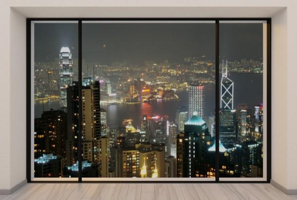 Fototapete Nr. 3737 - Penthouse Hongkong Peak View