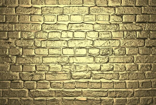 Fototapete Nr. 3933 - Golden Bricks