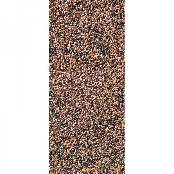 Türtapete Nr. 3275 - Buntsteinputz dunkelblau-braun