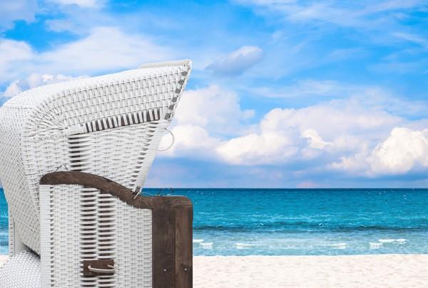 Fototapete Nr. 2928 - Blick aus dem Strandkorb