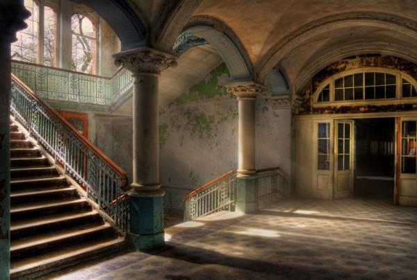 Fototapete Nr. 4190 - Villa Antique - Treppenhaus