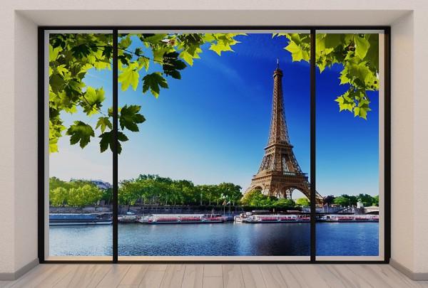 Fototapete Nr. 2974 - Penthouse Paris on the Seine