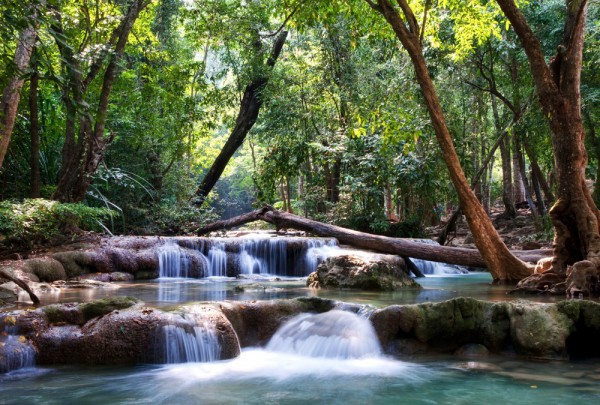Fototapete Nr. 3129 - Water cascades