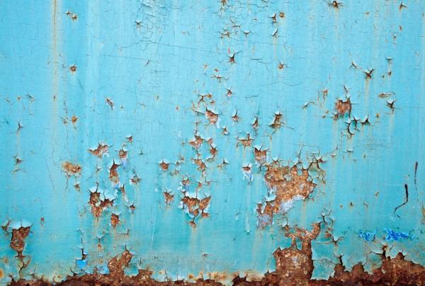 Fototapete Nr. 3784 - Rusty iron II
