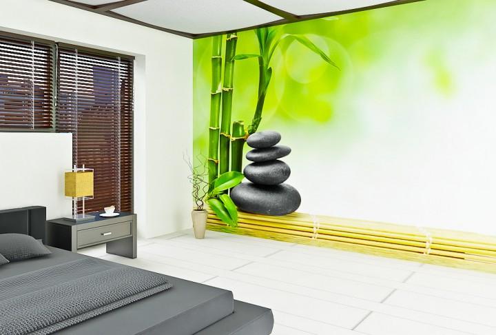 Fototapeten Eigenes Motiv : Stones Wellness Fototapeten in Premiumqualit?t von supertapete.de